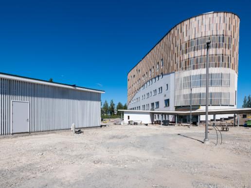 Seinäjoen keskussairaalan varavoimakone